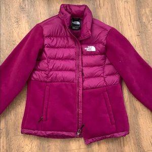 North Face 550 Fleece Down Denali Jacket